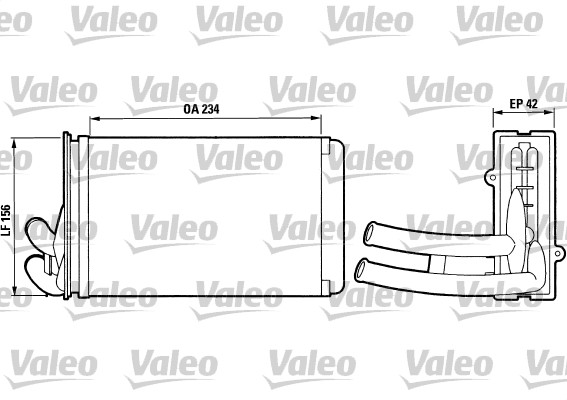 Système de chauffage - VALEO - 812012