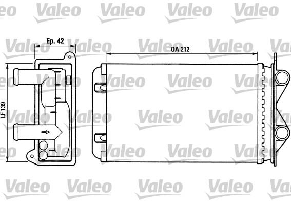 Système de chauffage - VALEO - 812013