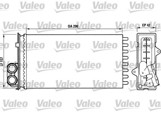 Système de chauffage - VALEO - 812014
