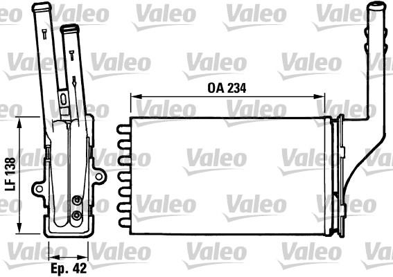 Système de chauffage - VALEO - 812016