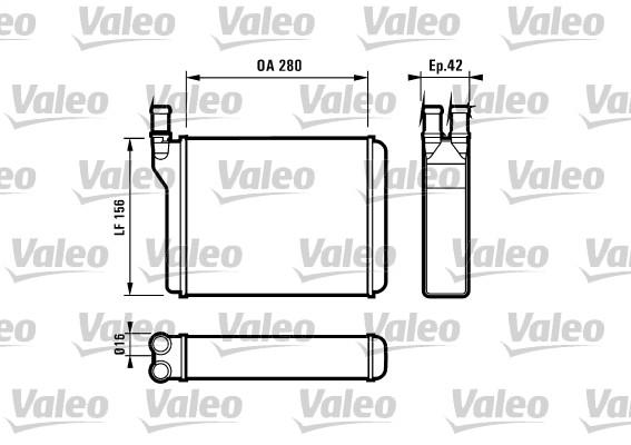 Système de chauffage - VALEO - 812027