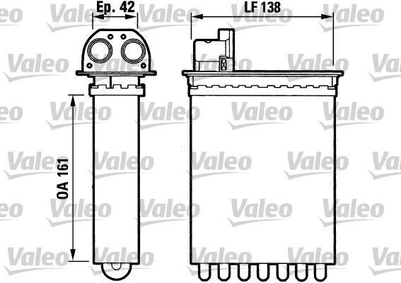 Système de chauffage - VALEO - 812028
