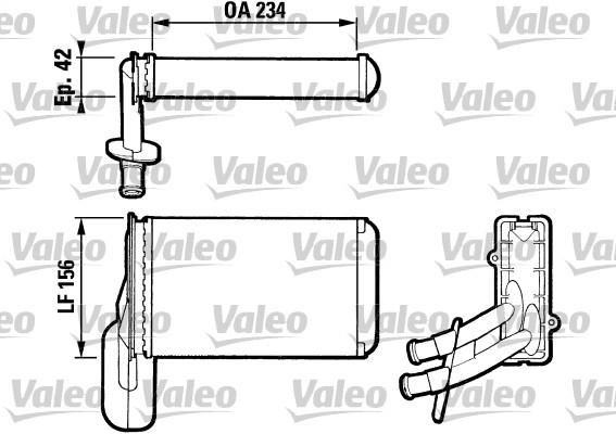 Système de chauffage - VALEO - 812031