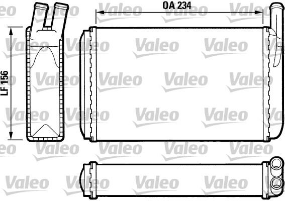 Système de chauffage - VALEO - 812034