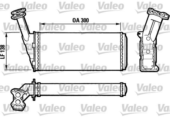 Système de chauffage - VALEO - 812036