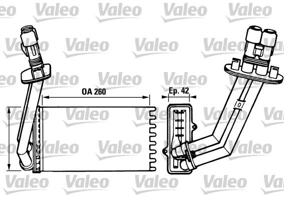 Système de chauffage - VALEO - 812048