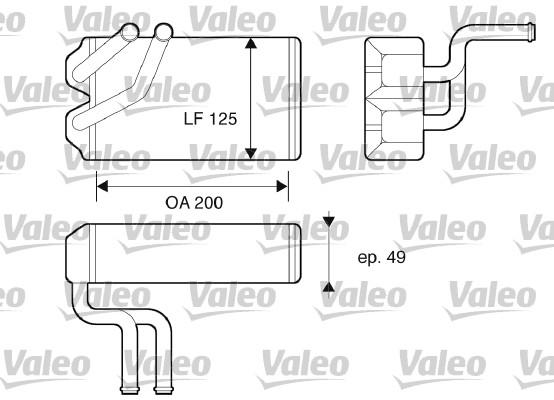 Système de chauffage - VALEO - 812069
