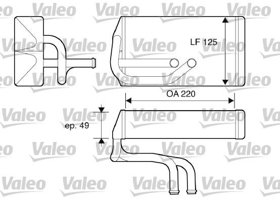 Système de chauffage - VALEO - 812070