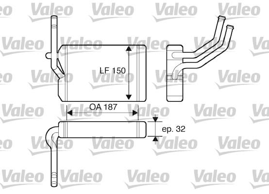 Système de chauffage - VALEO - 812071