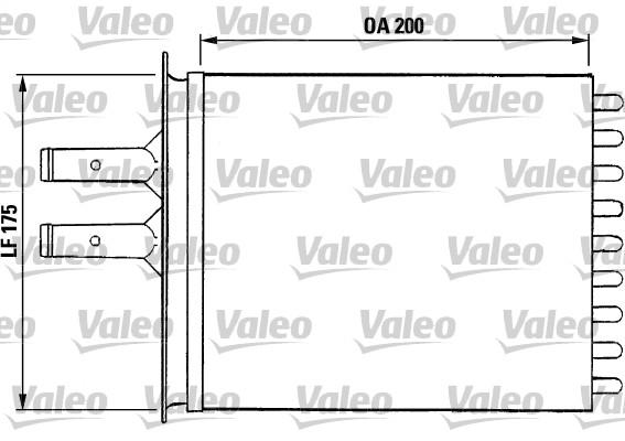 Système de chauffage - VALEO - 812081