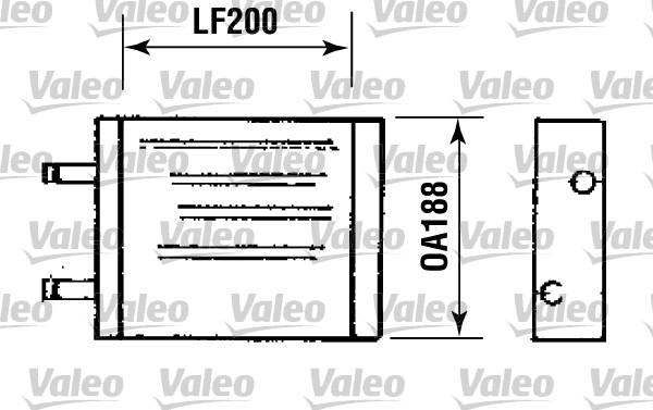 Système de chauffage - VALEO - 812093