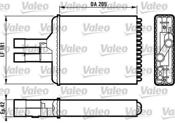 Système de chauffage - VALEO - 812117