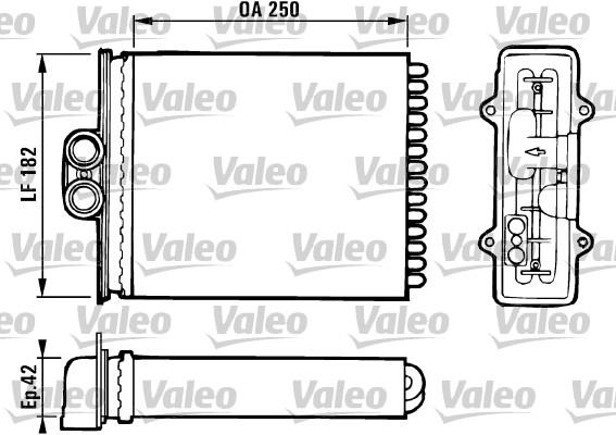 Système de chauffage - VALEO - 812118