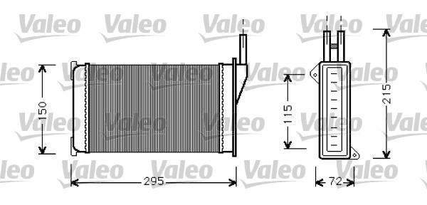 Système de chauffage - VALEO - 812129