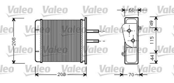 Système de chauffage - VALEO - 812145