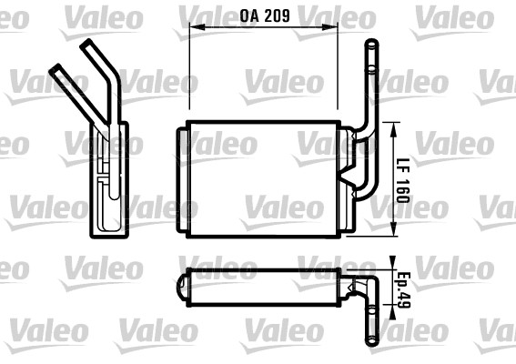 Système de chauffage - VALEO - 812154
