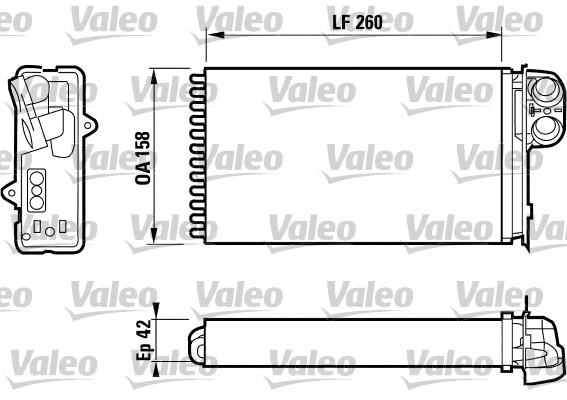 Système de chauffage - VALEO - 812161