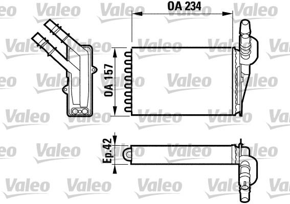 Système de chauffage - VALEO - 812169