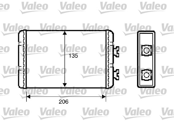 Système de chauffage - VALEO - 812220