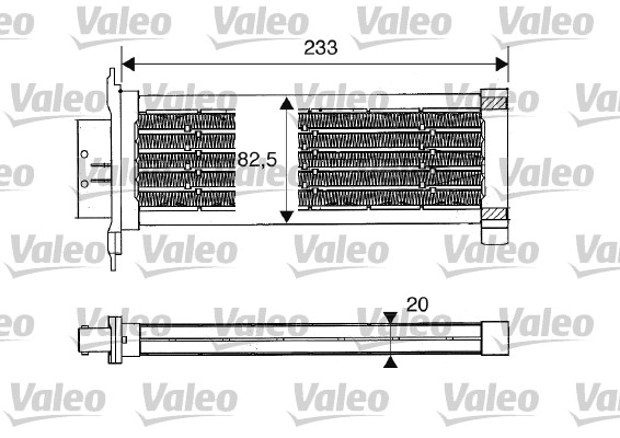 Chauffage auxiliaire - VALEO - 812235