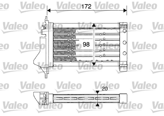 Chauffage auxiliaire - VALEO - 812249
