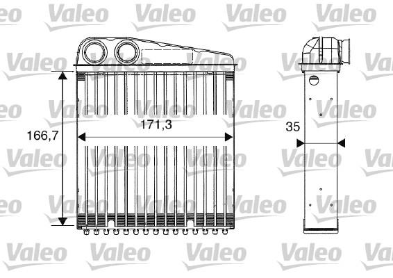Système de chauffage - VALEO - 812250