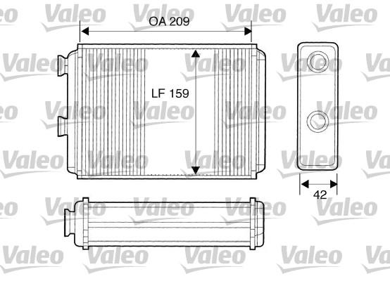 Système de chauffage - VALEO - 812280