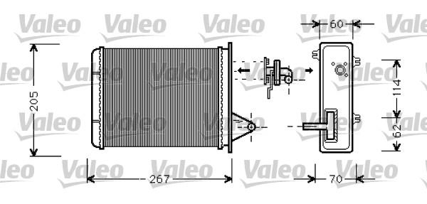 Système de chauffage - VALEO - 812283