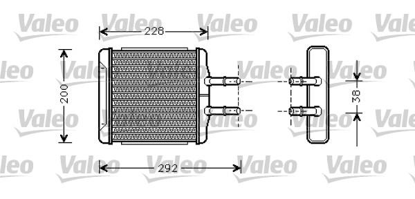 Système de chauffage - VALEO - 812335
