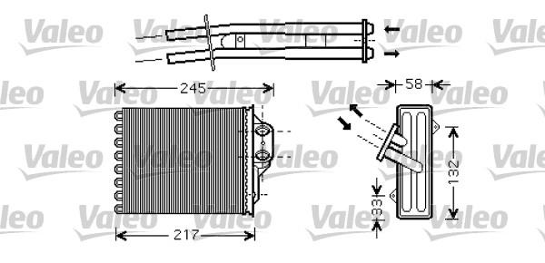 Système de chauffage - VALEO - 812336