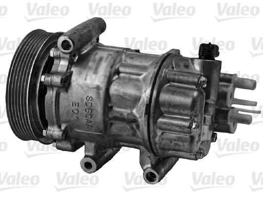 Compresseur, climatisation - VALEO - 813164