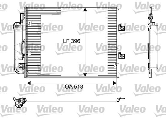 Condenseur, climatisation - VALEO - 814061