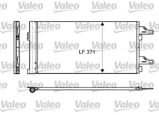 Condenseur, climatisation - VALEO - 814085