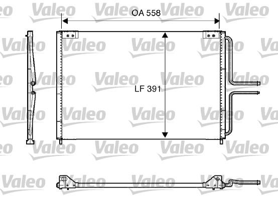Condenseur, climatisation - VALEO - 816867