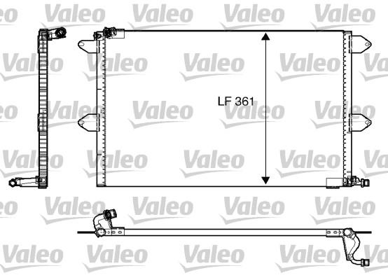 Condenseur, climatisation - VALEO - 816908