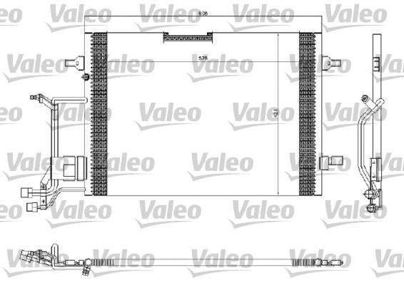Condenseur, climatisation - VALEO - 816967