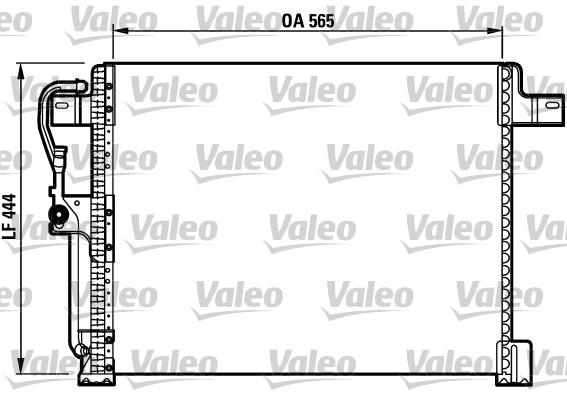 Condenseur, climatisation - VALEO - 817023