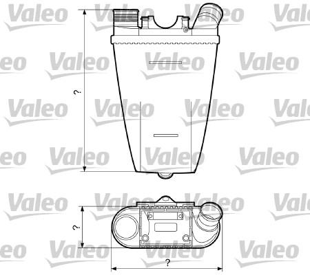 Intercooler, échangeur - VALEO - 817204