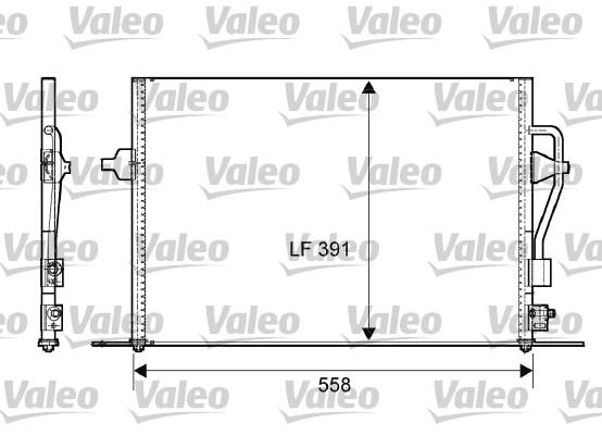 Condenseur, climatisation - VALEO - 817232