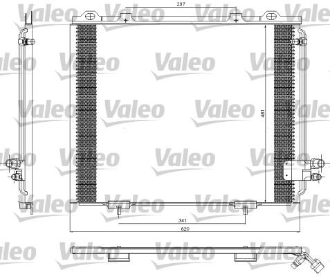 Condenseur, climatisation - VALEO - 817252