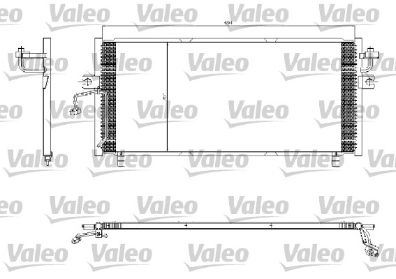 Condenseur, climatisation - VALEO - 817253