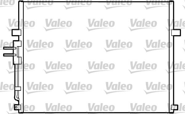 Condenseur, climatisation - VALEO - 817288