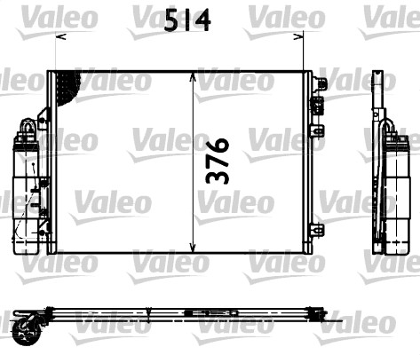 Condenseur, climatisation - VALEO - 817428