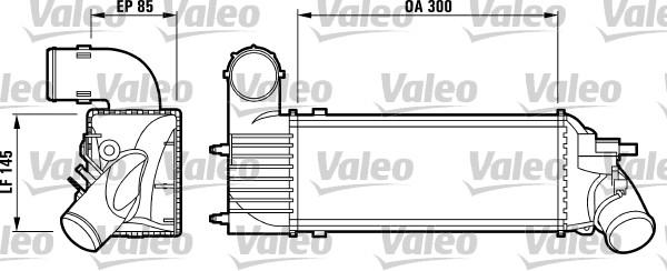 Intercooler, échangeur - VALEO - 817437