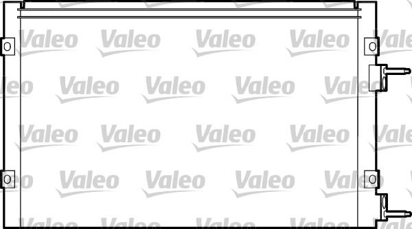 Condenseur, climatisation - VALEO - 817445