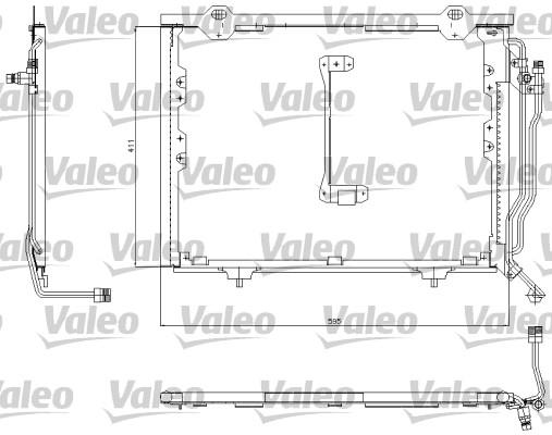 Condenseur, climatisation - VALEO - 817492
