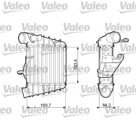 Intercooler, échangeur - VALEO - 817556