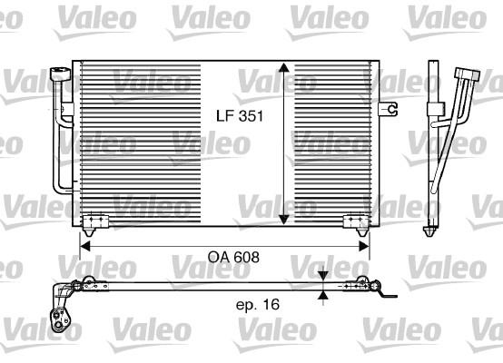Condenseur, climatisation - VALEO - 817560