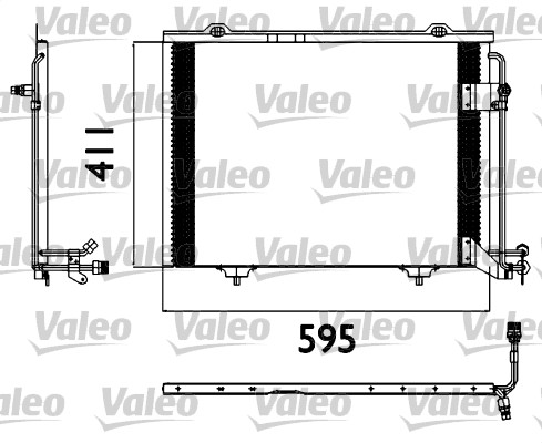 Condenseur, climatisation - VALEO - 817562