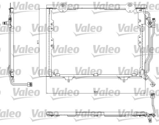 Condenseur, climatisation - VALEO - 817563